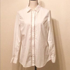 Women's Banana Republic tailored style button up